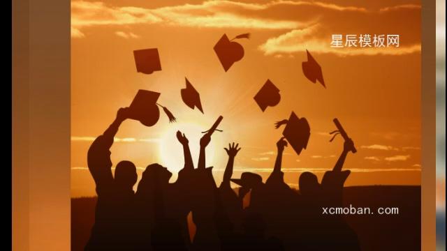 120018清新可爱动画毕业季图文展示会声会影x10
