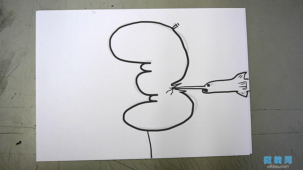 倒数计时之创意卡通漫画开场片头视频素材07