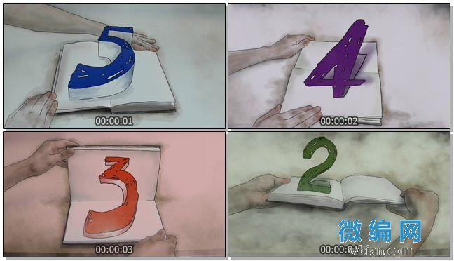 倒计时之创意开场片头视频素材11